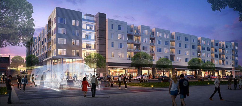 artist rendering of 1085 Vida Kannapolis project