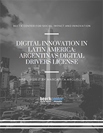 cover of Digital Drivers License Case Study
