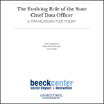cover of report: The Evolving Role of the State Chief Data Officer