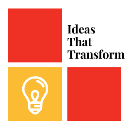 the ideas that transform logo