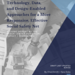 cover of Social Safety Net Benefits report