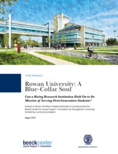 rowan university report cover