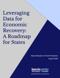 cover of leveraging data for economic recovery: A roadmap for states