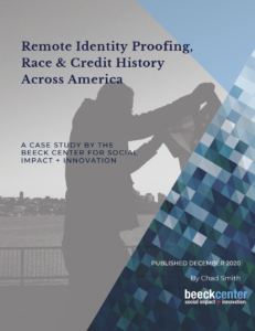 Cover of Remote Identity Proofing, Race & Credit History Across America