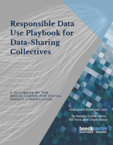 Cover of Responsible Data Use Playbook for Data-Sharing Collectives